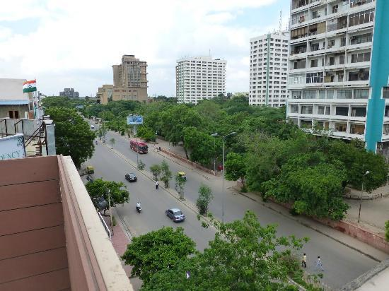Shervani Nehru Place: View from rooftop