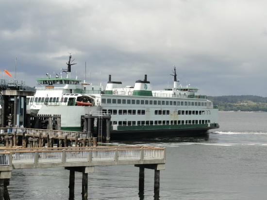 Silver Cloud Inn Mukilteo – Waterfront: Out my window