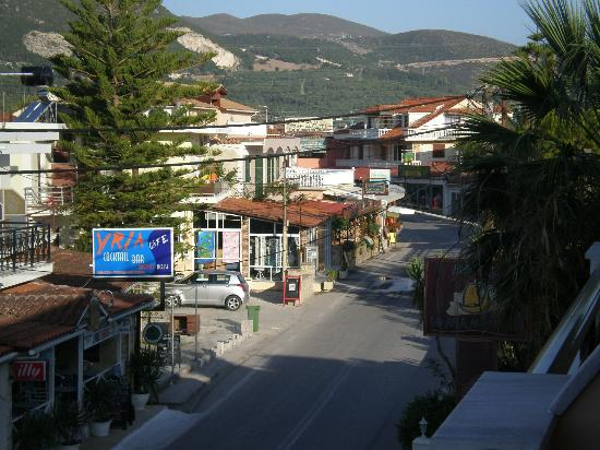 Ionian Star Hotel: centre of town from balcony