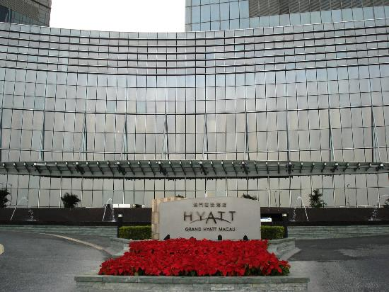 Grand Hyatt Macau: Hotel Entrance