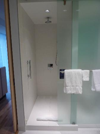 bathroom shower picture of radisson blu aqua hotel chicago tripadvisor. Black Bedroom Furniture Sets. Home Design Ideas