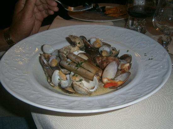 Ristorante da Mimi : excellent shellfish