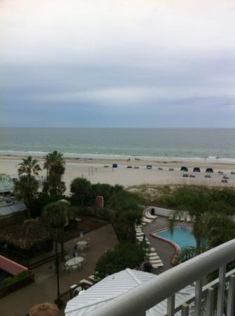 Beach House Suites by the Don CeSar: View from our balcony.