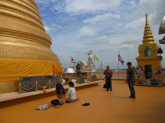 golden mount tempal - Picture of The Golden Mount (Wat ...
