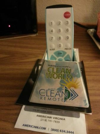 AmericInn Lodge & Suites Virginia: a clean remote