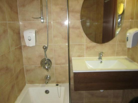 Nice bathrooms newly done up picture of restal hotel for Pictures of nice bathrooms