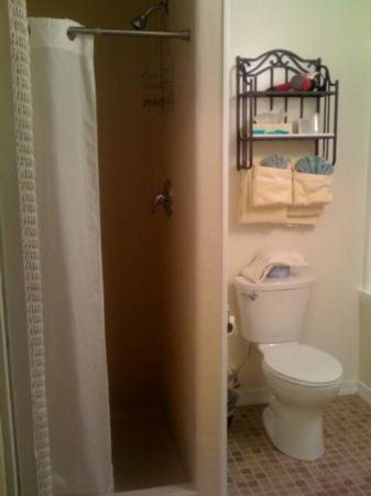 Hotel Macomber: Room 47 -- remodeled bathroom