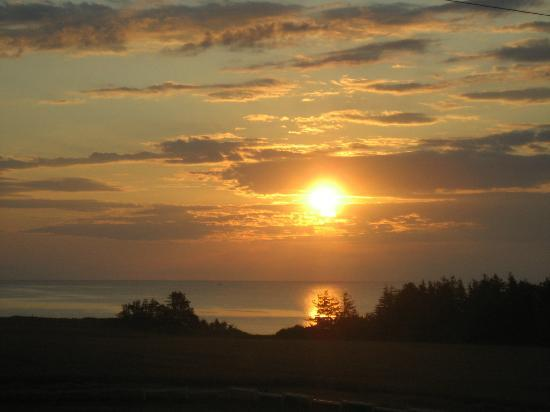 French River, Καναδάς: Sunrise from Dunes Room