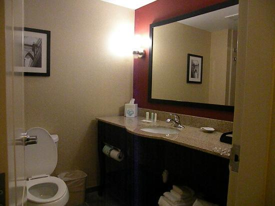 Comfort Suites Florence: Bathroom.