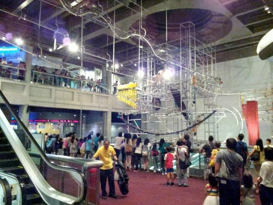 Energy Machine At The Hong Kong Science Museum Picture