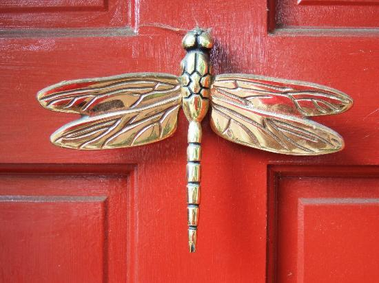 So many beautiful door knockers and details - Dragonfly door knocker ...