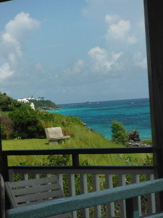Pink Beach Club &amp; Cottages: View from balcony