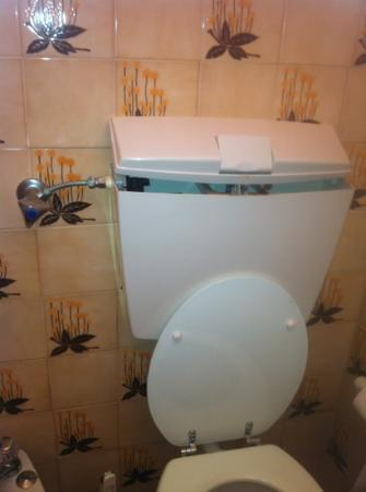 Via Don'Ana Hotel: broken toilet