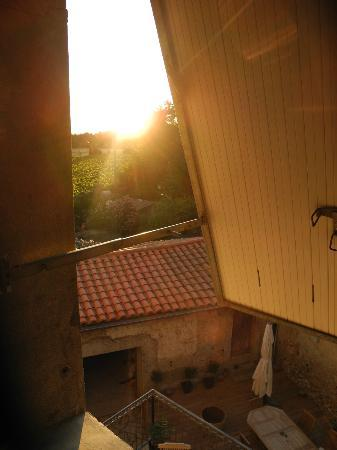 Fabrezan, Frankrijk: room with a view: sunrise at Bo-Bonne!