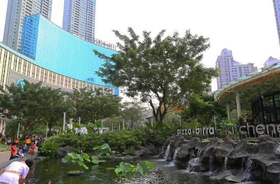 View from bed picture of pullman jakarta central park - Pullman central park swimming pool ...