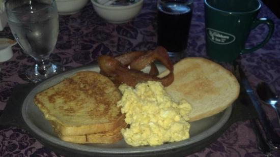 Churchville, VA: INN BREAKFAST
