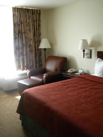 Quality Inn at Town Center: Bedroom