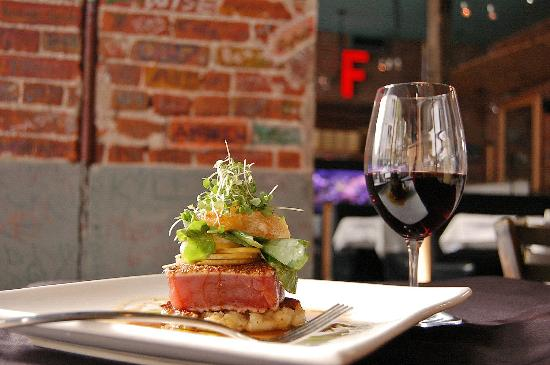 I 39 ll have a glass of cabernet with my tuna thank you very for Jack s fish house