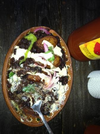 Mas Tacos: Plantains with Black Beans