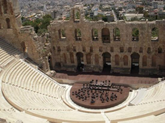 Theatre of Dionysus 2 - Picture of Theater of Dionysos ...