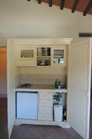 Kitchenette in kast