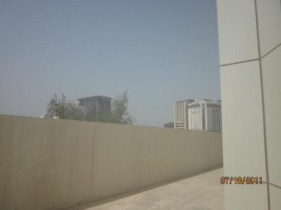 Swiss-Belhotel Doha: View of top of pool fence
