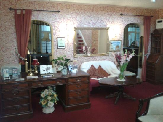 Ersham Lodge Hotel: Reception