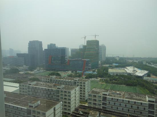  : View of Shenzhen from window
