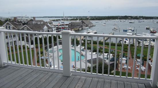 Harborside Inn: View from our balcony