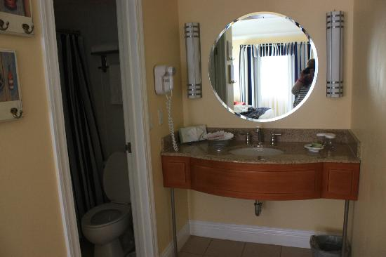 bathroom sink in bedroom picture of pismo lighthouse suites pismo
