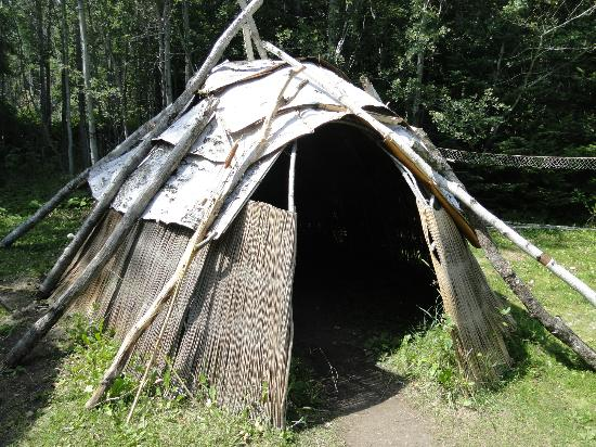 Grand Portage, MN: Tepee - be sure to step inside