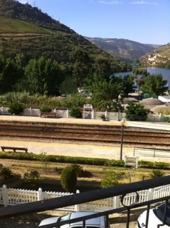 Hotel Douro: View from our room&#39;s balcony