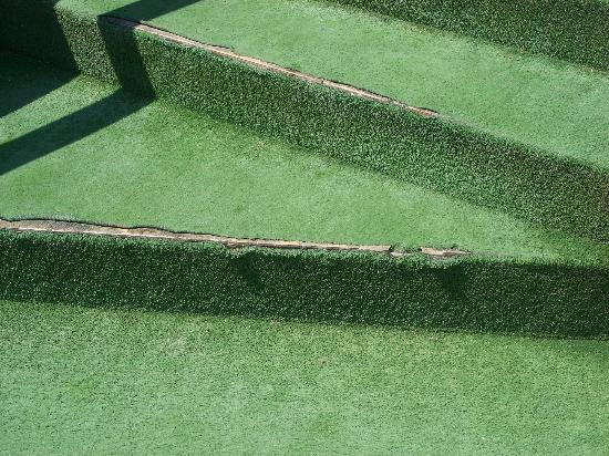 Artificial grass on steps picture of aloe hotel paphos