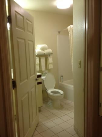 Hawthorn Suites by Wyndham Hartford Meriden: bathroom