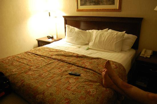 Drury Inn & Suites Memphis South: Comfy Bed!