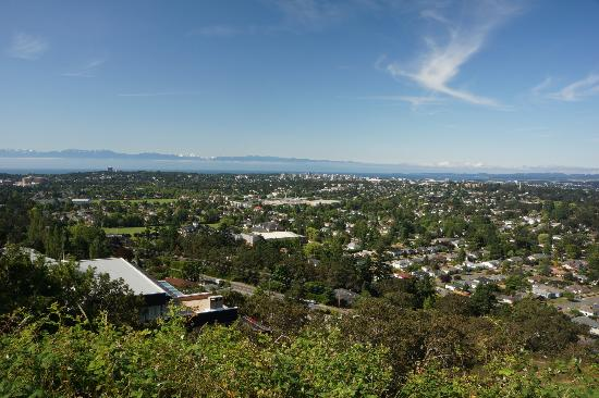 Vista on the Rock: Amazing city view of Victoria