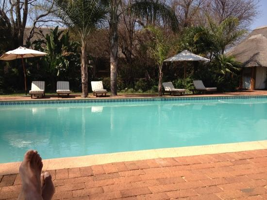 Leriba Hotel and Spa: The peaceful pool