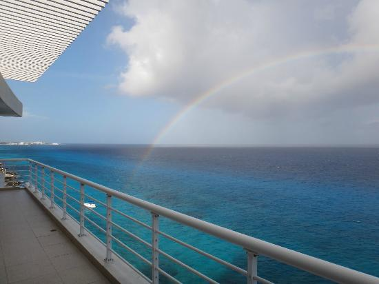 Nah Ha Condominiums: Rainbow From Condo Balcony... Amazing!