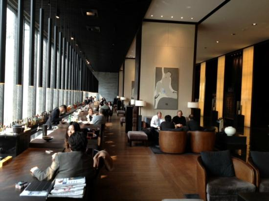 Puli Shanghai  Lobby Bar - Picture Of The Puli Hotel And Spa  Shanghai