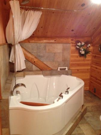 Superior Gateway Lodge: king jacuzzi