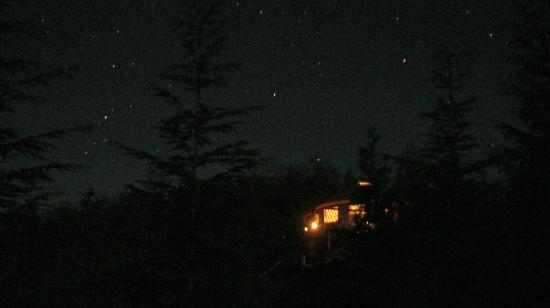 Starry night at Soule Creek Lodge
