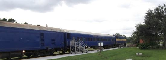 Fort Myers, FL: Exterior Shot Of Train