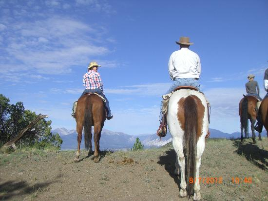 Elk Mountain Ranch: Brunch Ride