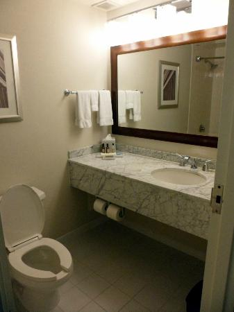 Toronto Marriott Downtown Eaton Centre Hotel: Bathroom