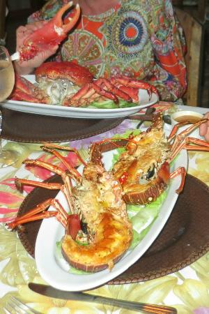 Hacienda del Mar: Crab and Lobster Dinner