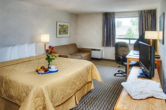 Comfort Inn Riviere-du-Loup: Comfort Queen room 2nd floor