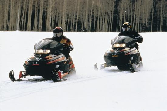 Comfort Inn Riviere-du-Loup: Snowmobilers
