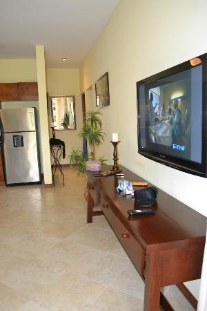 Club Del Cielo: Living room/TV
