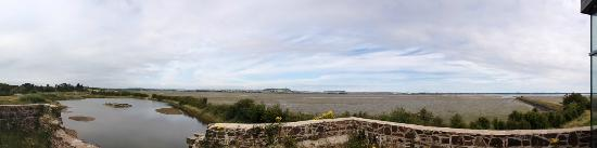 County Down, UK: Panorama from Lime Kiln