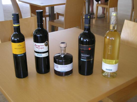 Heraklion Prefecture, กรีซ: prize wininig wines